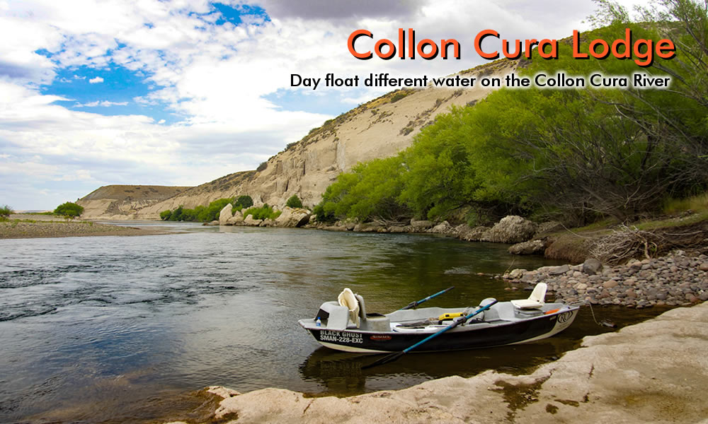 photo collon cura river parrots cliff view
