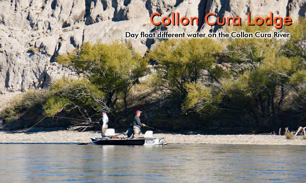 photo collon cura river cliff view