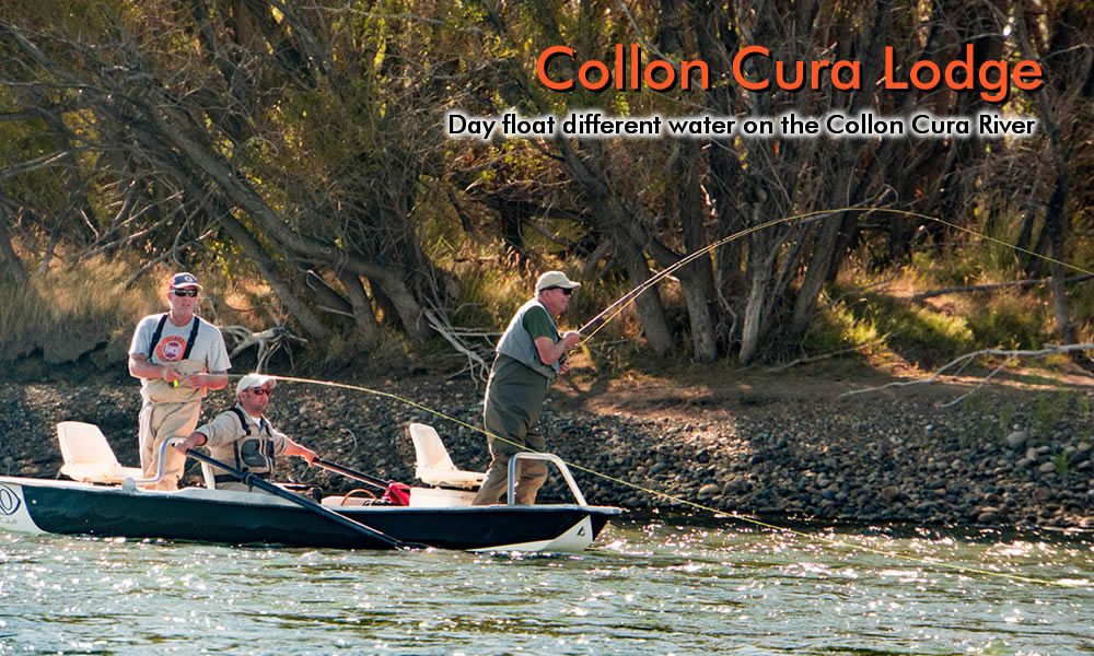 photo collon cura river fish on