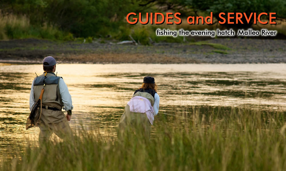fly fishing malleo river photo