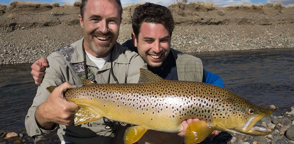 Fly fishing in patagonia argentina for Fishing in argentina