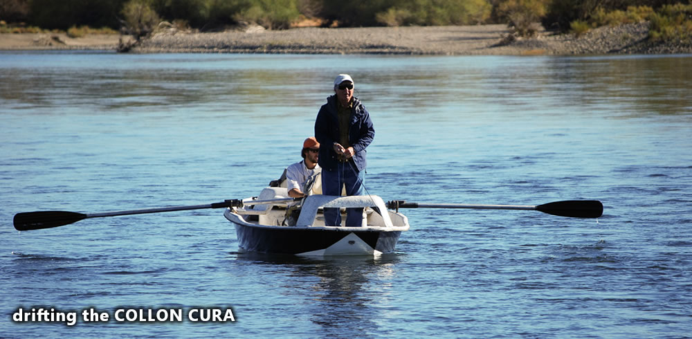 a nice day floating the collon cura river