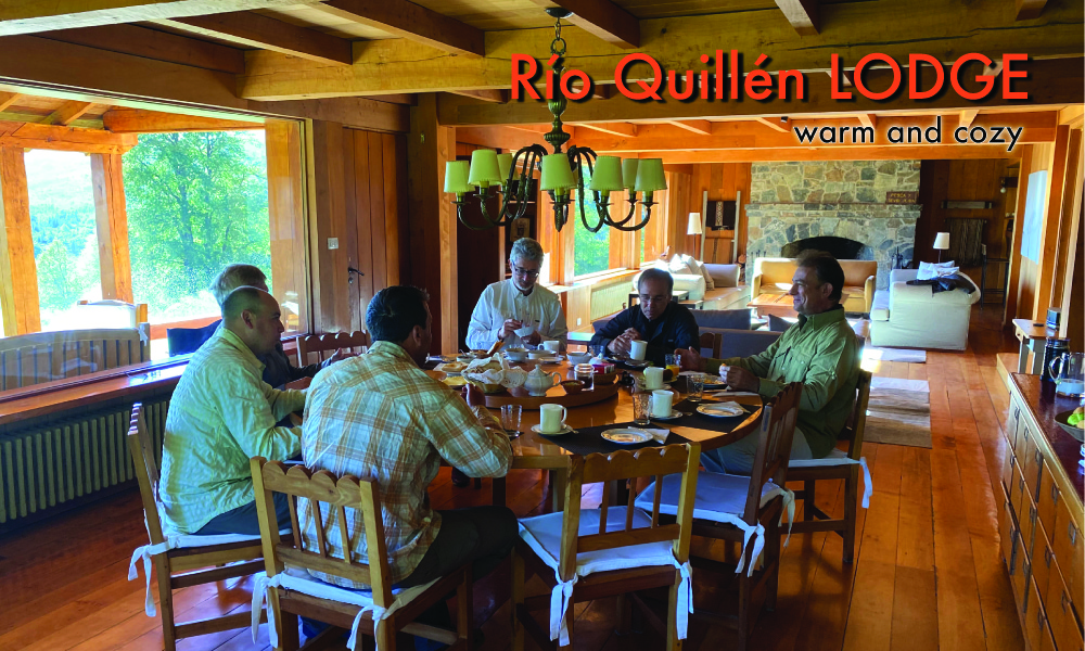 Estancia rio quillen fly fishing lodge patagonia argentina for Lodge fish house