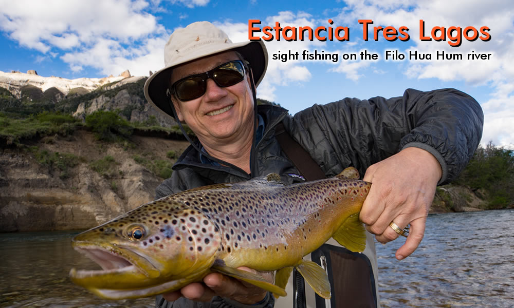 a nice brown trout from filo hua hum river
